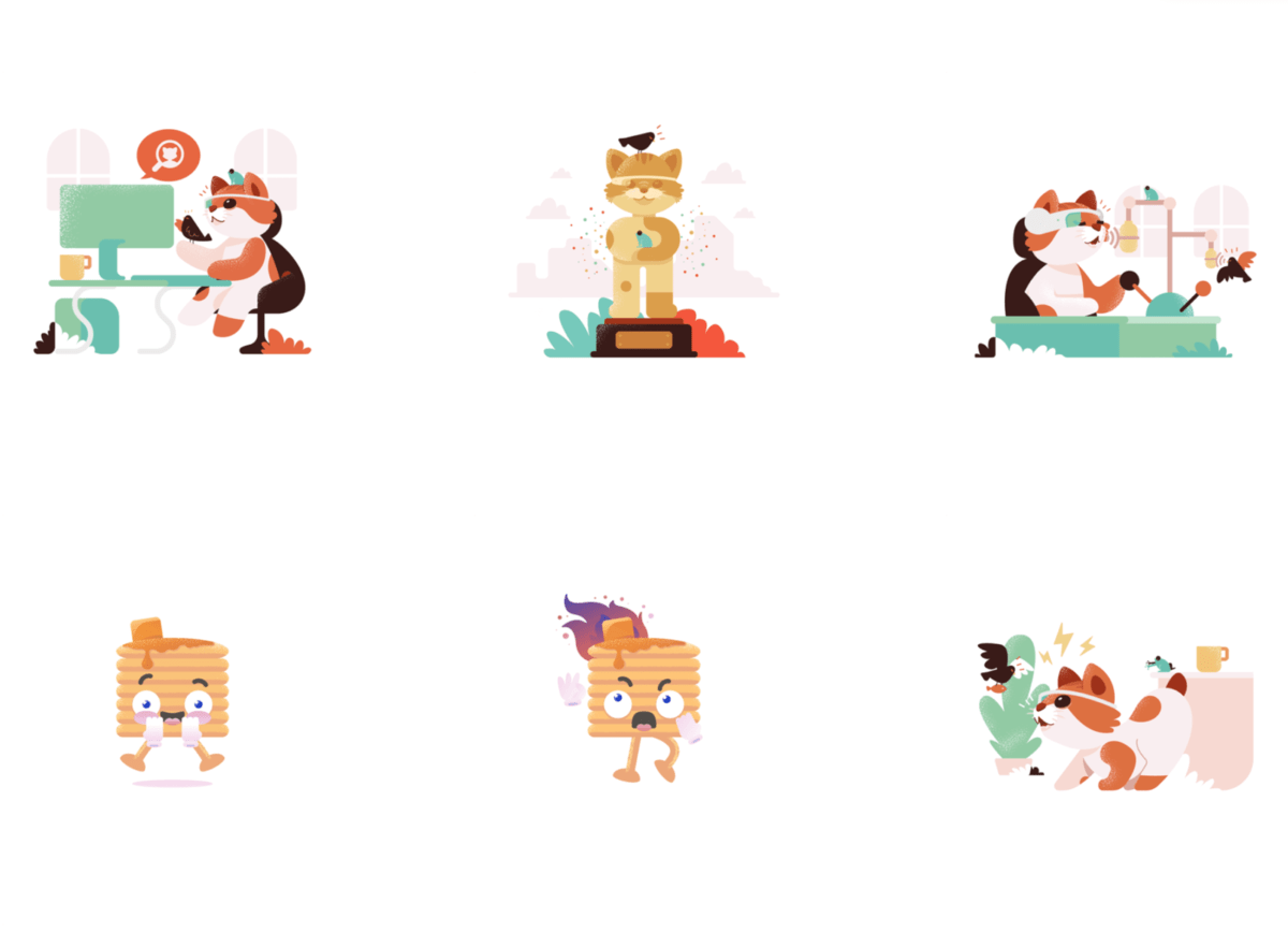 Product Hunt illustrations