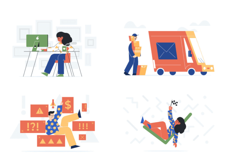 Unruly Illustrations