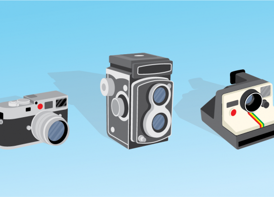 Free Camera Vector Illustrations