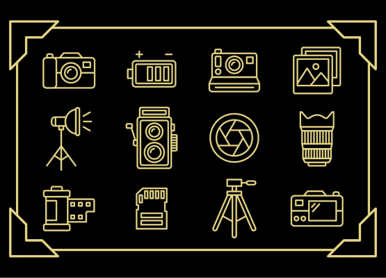 12 Free Photography Icons